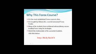 Forex Trading Course by Kishore M.