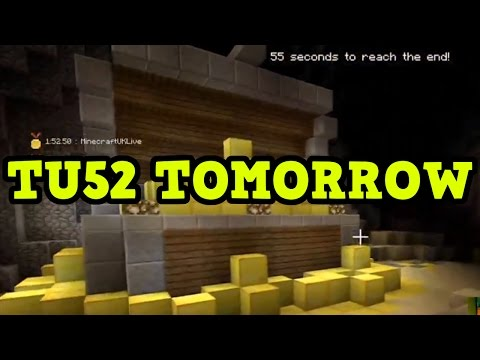 Minecraft Xbox 360 / PS3 - TU52 OUT TOMORROW