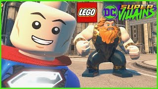 Lego DC Super Villains -  Lex Tower Metropolis Tour + FREE ROAM