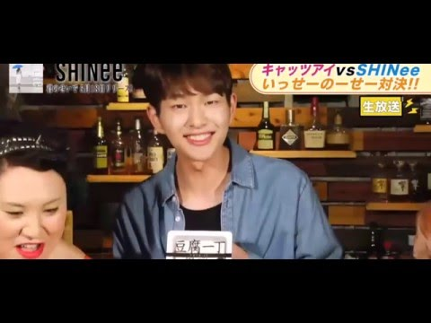 SHINee 20160516「 Abema TV 」 Game~ONEW  cut