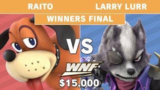WNF 2.6 $15K - Raito (Duck Hunt) vs Larry Lurr (Wolf) - Winners Final - Smash Ultimate