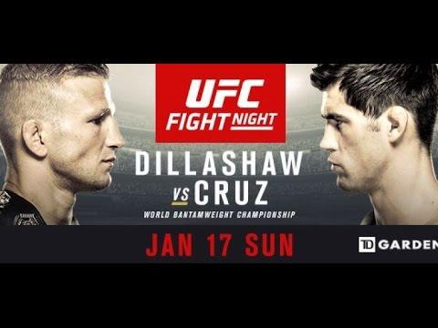MMAandSHIT  Predicts - UFC Fight Night: Dillashaw vs. Cruz