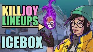 Killjoy Molly Lineups (Advanced Icebox) | Val๐rant Episode 2 Act 1