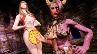 Hel Rising and Some Ultra HD Sweet Apple Pie - Skyrim Mod Review Episode 142