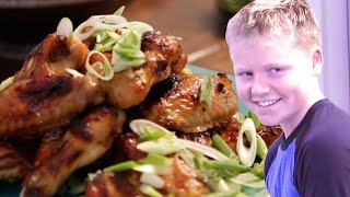 Gordon Ramsay Makes Spicy Chicken Wings With his Son Jack