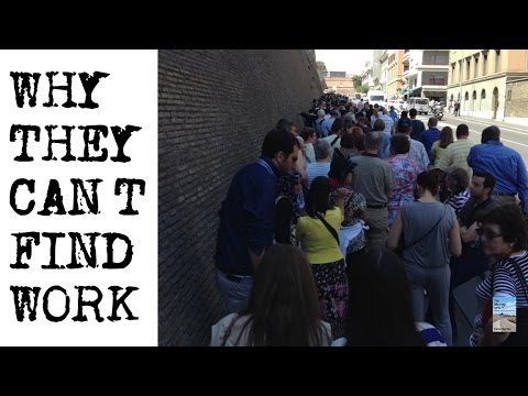 Why MILLENNIALS Can't Find Work! Global Epidemic of Youth Unemployment!