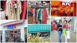 I went for shopping at CC2 , Rajarhat Newtown Kolkata || MAX, Pantloons, Kfc ||So Much Fun