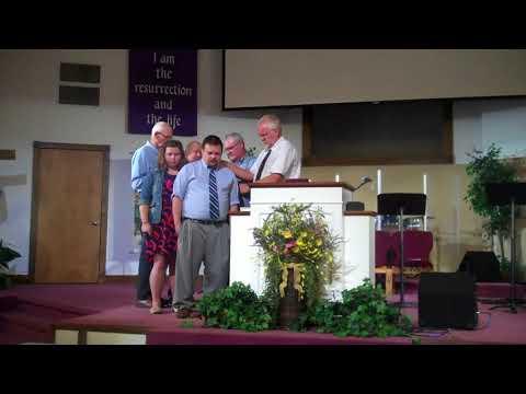 20170813 Associate Pastor Commissioning