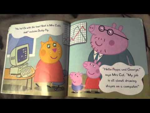 Peppa Pig Daddy Pig S Office Children S Book Read Aloud