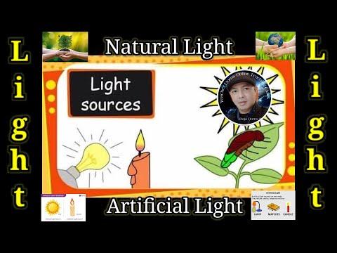Sources Of Light | Natural Versus Artificial Lights | Science For Grade 2 | Science For Prathom 2