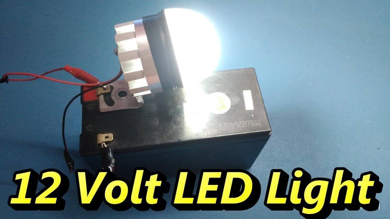 How To Wire 12 Volt Lights To A Battery  Led Wiring Basics