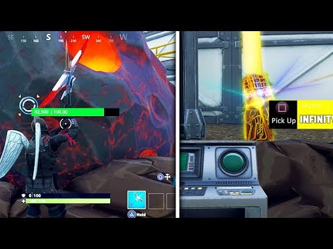 """HIDDEN """"Infinity Gauntlet"""" LOCATION! - Become THANOS INSTANTLY EVERY MATCH In Fortnite!"""