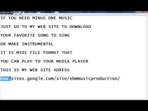 Minus One Music Free Download