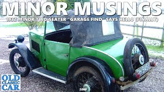 Our pre-war 1930s Morris Minor two-seater car, a brief intro to the 1932 Minor at Old Classic Car