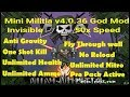 Mini Militia invisible and wall hack v4.0.36{god mod}