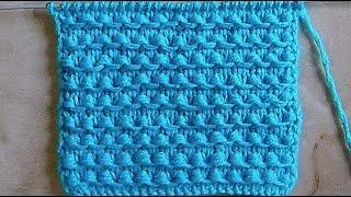 Плотный рельефный узор Вязание спицами Видеоурок 210