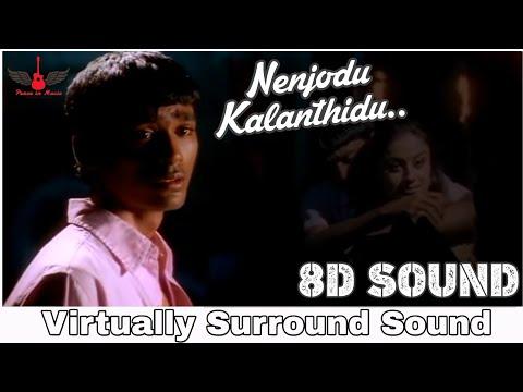 Nenjodu Kalanthidu 8d Audio Song Kaadhal Kondein Tamil 8d Songs Youtube