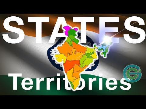 The States + territories of India EXPLAINED Geography Now!
