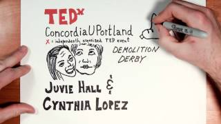 Cynthia Lopez and Juvie Hall TEDxConcordiaUPortland Time-Lapse Introduction