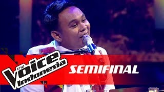King - Lilin-Lilin Kecil (Chrisye) | SEMI FINAL | The Voice Indonesia GTV 2018
