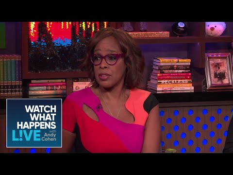 Gayle King On Friend Charlie Rose | WWHL