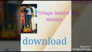 Telugu Leatest Movies Download