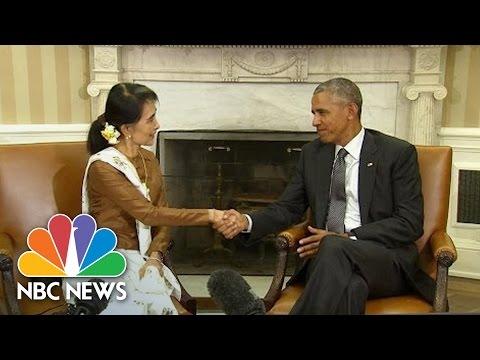 President Obama Lifts Sanctions On Burma   NBC News