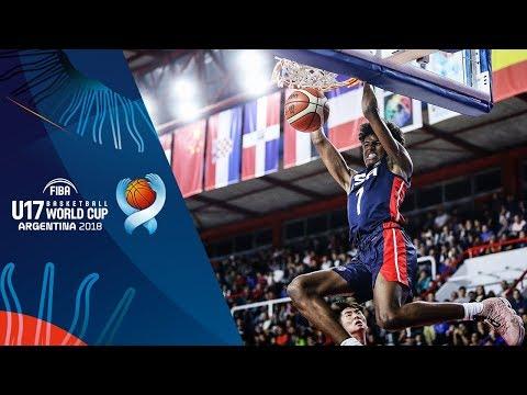 HIGHLIGHTS: USA vs. China (VIDEO) FIBA U17 Basketball World Cup 2018