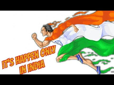 It's Happens Only in India status video