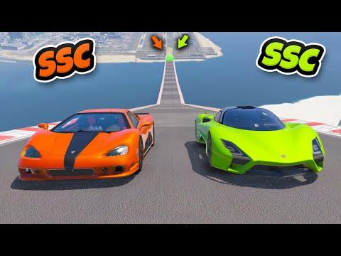 SSC Tuatara vs SSC Ultimate Arabalar İkili Kapışma Serisinde – GTA 5