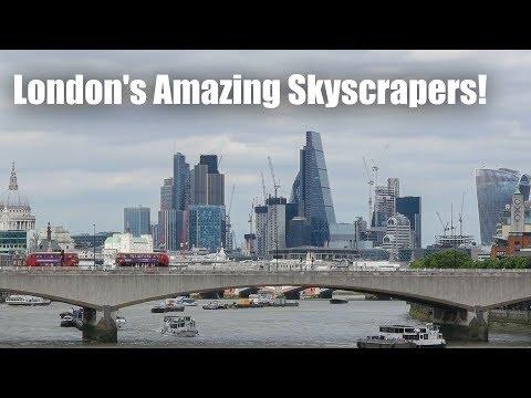 City of London - Amazing Skyscrapers !