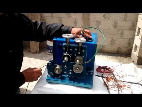 Maquina peladora de cable en Mexico