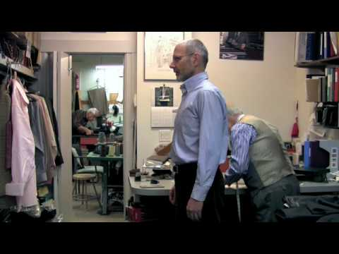 Emil Fusaro - Tailor - The Fitting