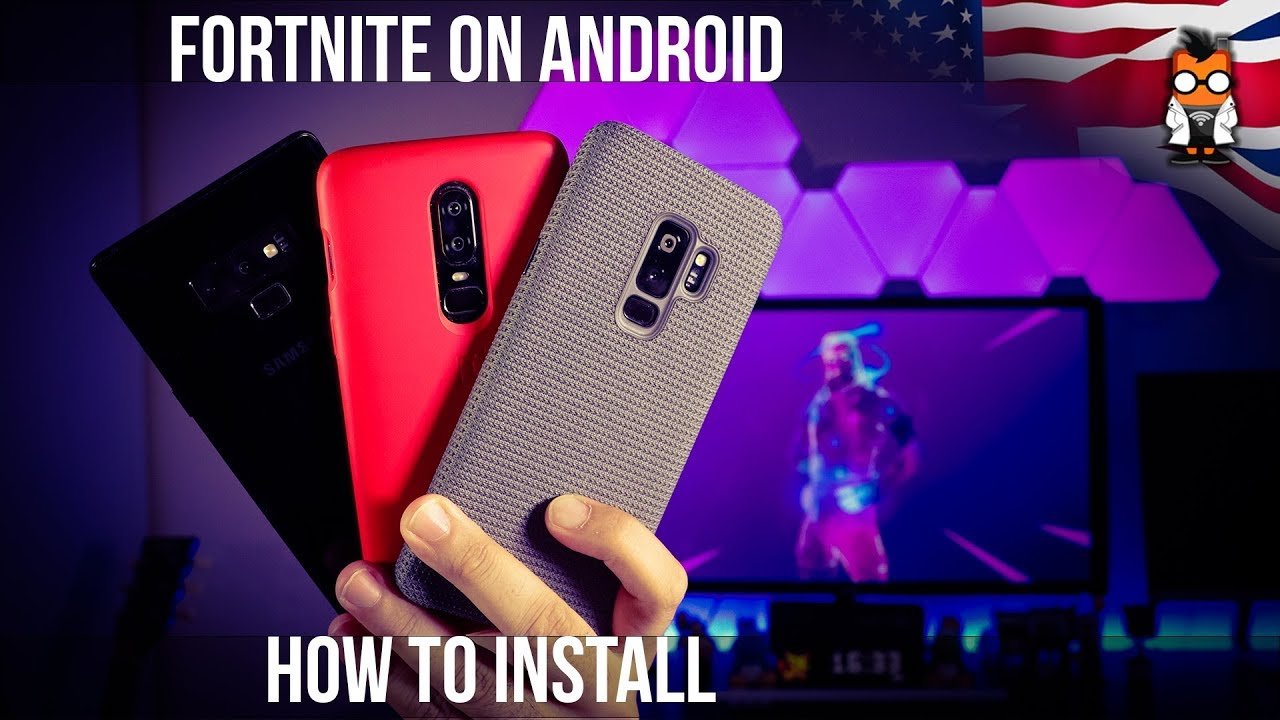 How To Install Fortnite On Android Samsung And Get The Galaxy Man Skin