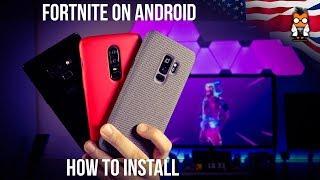 Comment installer Fortnite sur Android / Samsung et obtenir la peau Galaxy Man