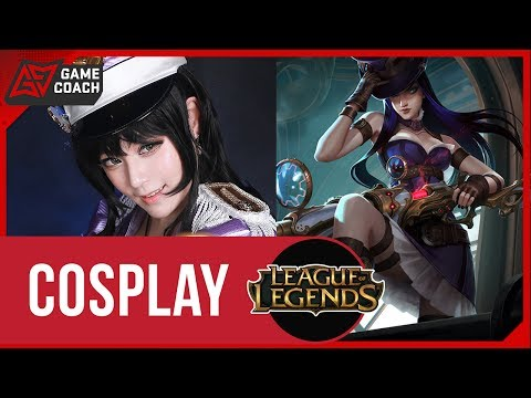 [LoL] Popstar, 'Caitlyn' Cosplay (With Reve)