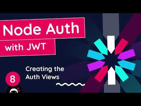 Node Auth Tutorial (JWT) #8 - Auth Views