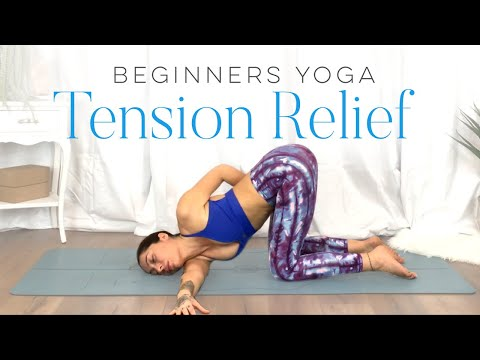 Yoga For TENSION RELIEF & Sore Muscles | 10 Minute Yoga Flow For Beginners