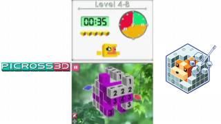Picross 3D - Game Controller/Shina Ibu/Keepy-Uppy Perfect 3 Stars