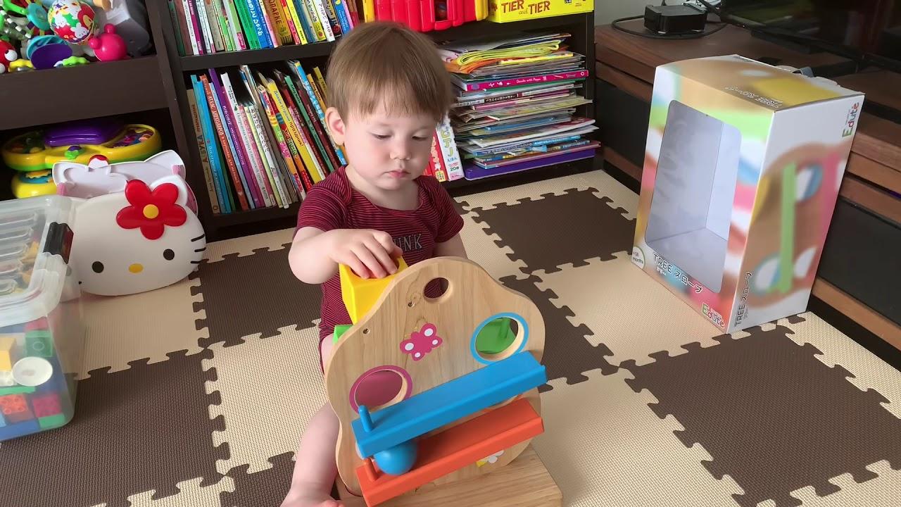 1歳児 新しい コロコロ おもちゃ 1歳2ヶ月