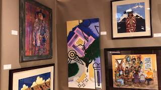 Best Of Show - Paintings Drawings Graphics Photography | Santa Fe Indian Market 2018 Clip 6