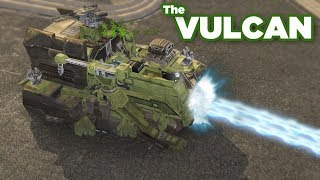 The Vulcan - the Halo wars Uber Unit turtle