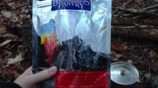 Backpacker's Pantry Pesto Salmon Pasta Review