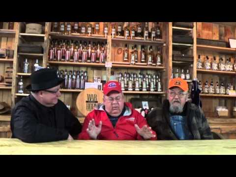 The Moron Brothers interview and tell jokes at Appalachian Mountain Spirits Mercantile