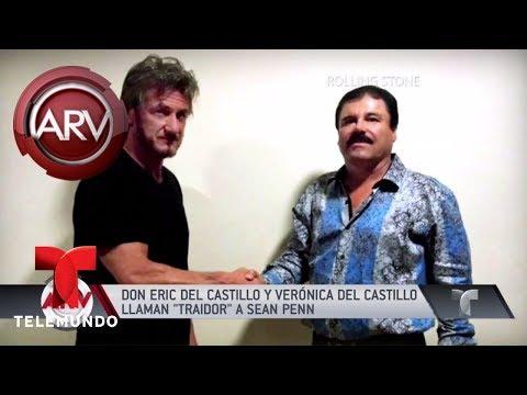 Eric del Castillo llamó traidor a Sean Penn | Al Rojo Vivo | Telemundo