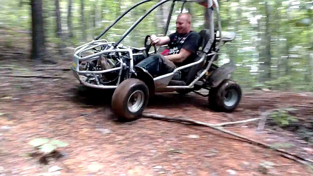 670cc Off Road Go Kart Trail Riding & Rock Crawling  Red Beard'S Garage  26:44 HD