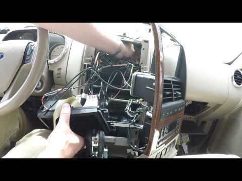 Nexus 7 In Dash Version 2.0 - Ford Explorer Install Part 4 - Tablet And Head Unit Installation