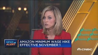 Amazon raises minimum wage to $15 for all US workers