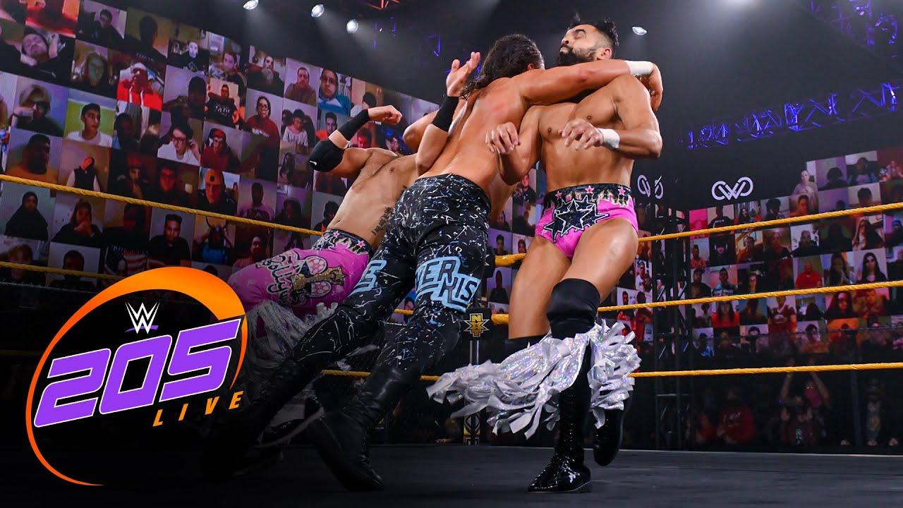 Ever-Rise vs. Bollywood Boyz – Tornado Tag Team Match: WWE 205 Live, Dec. 18, 2020