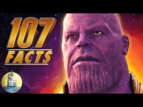 107 Avengers: Infinity War Facts YOU Should Know! | Cinematica